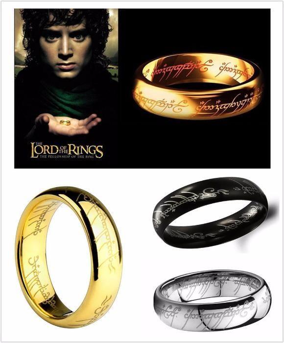 Пръстен Властелинът на пръстените Lord of the rings сребро или злато