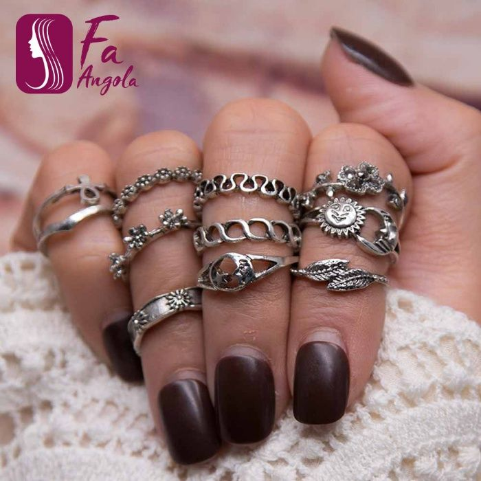 Conjuntos de Anéis de Dedo