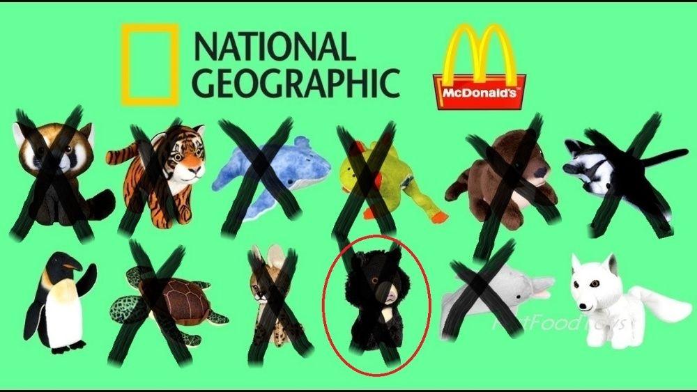 McDonald's Nat Geo Kids