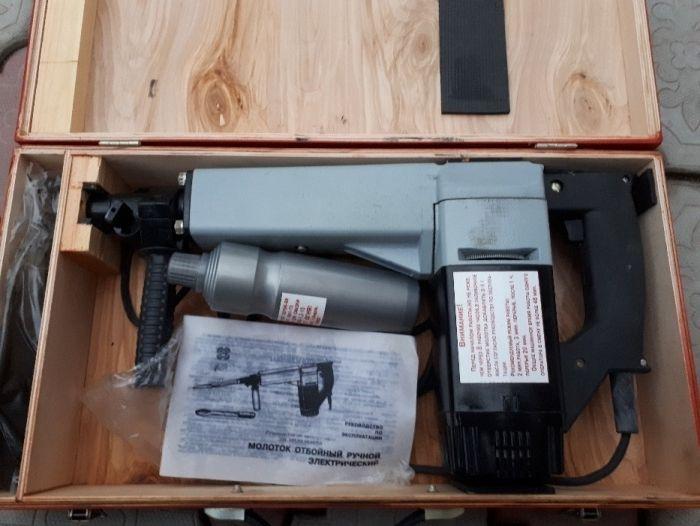 Электрический молот для разрушения кирпичной кладки, бетона, льда
