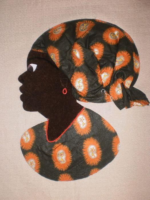 Африканка-картина от текстил върху текстил-варианти гр. София - image 8