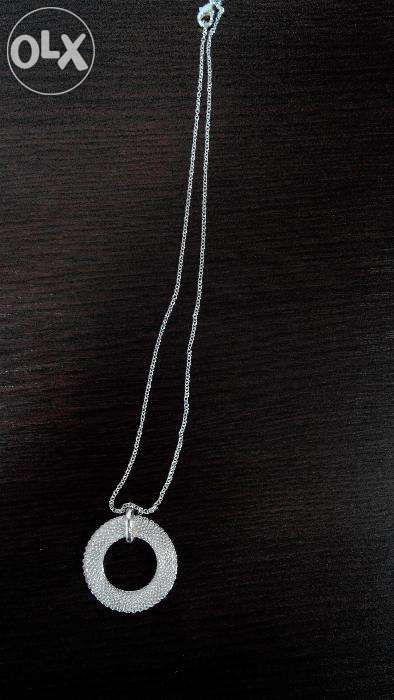 Lantisor argint 925 pandantiv Sun Arrow