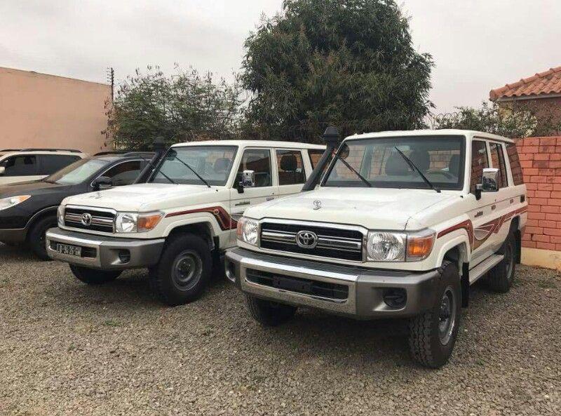 Vende-se estas Toyotas Land Cruiser nova 0km a Gasóleo e a Gasolina