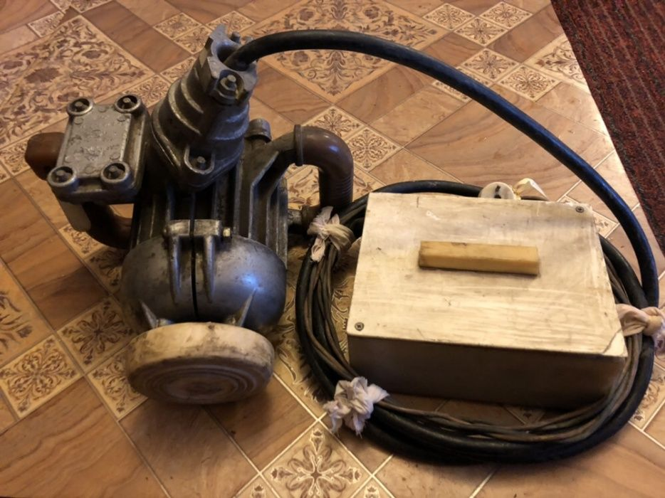 Электрическая дрель шахтная (баран)