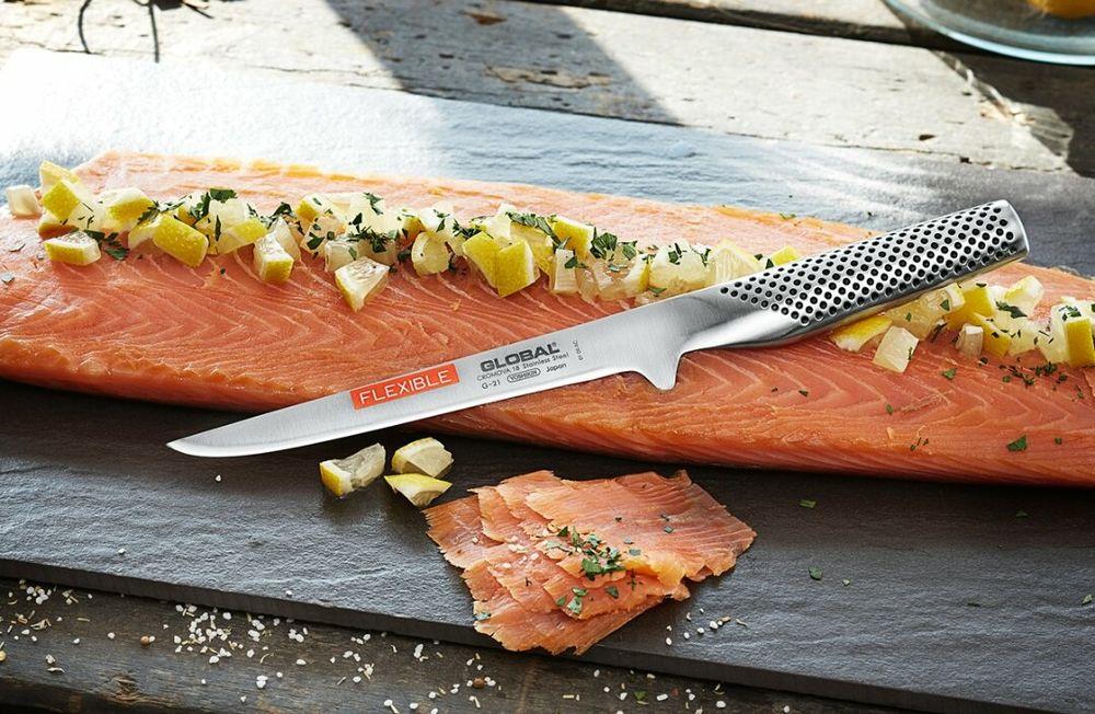 Кухненски нож Global G-21 Cuțit de bucătărie, Μαχαίρι κουζί