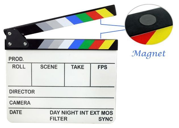 Clacheta film profesionala Clapper Board E-Image ECB-1,2,3,4