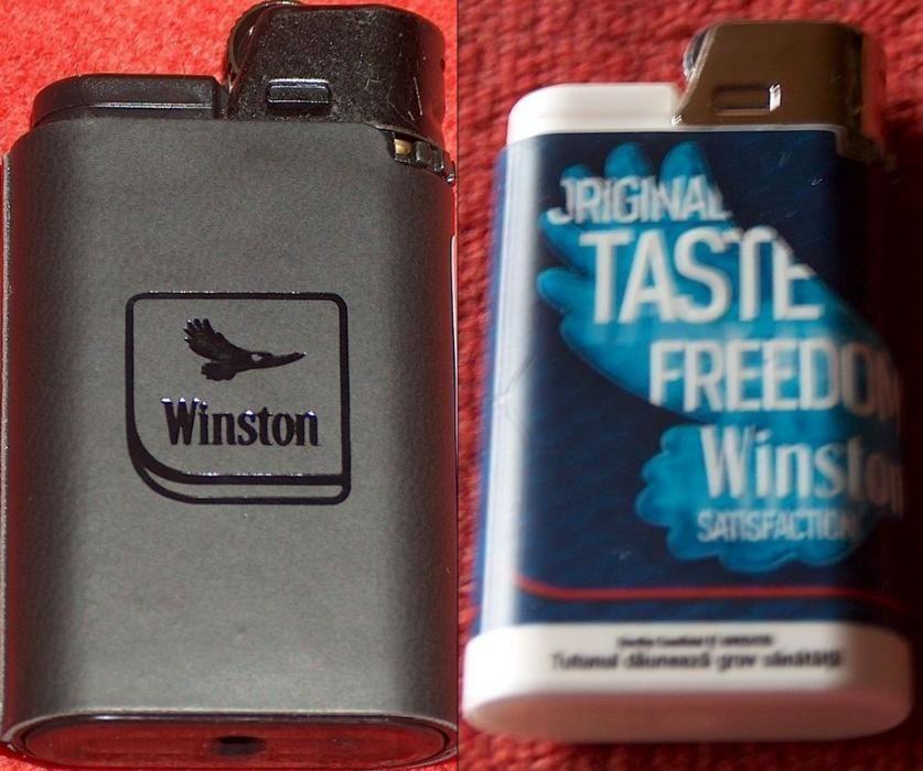 Winston : 2 brichete de colecţie, noi