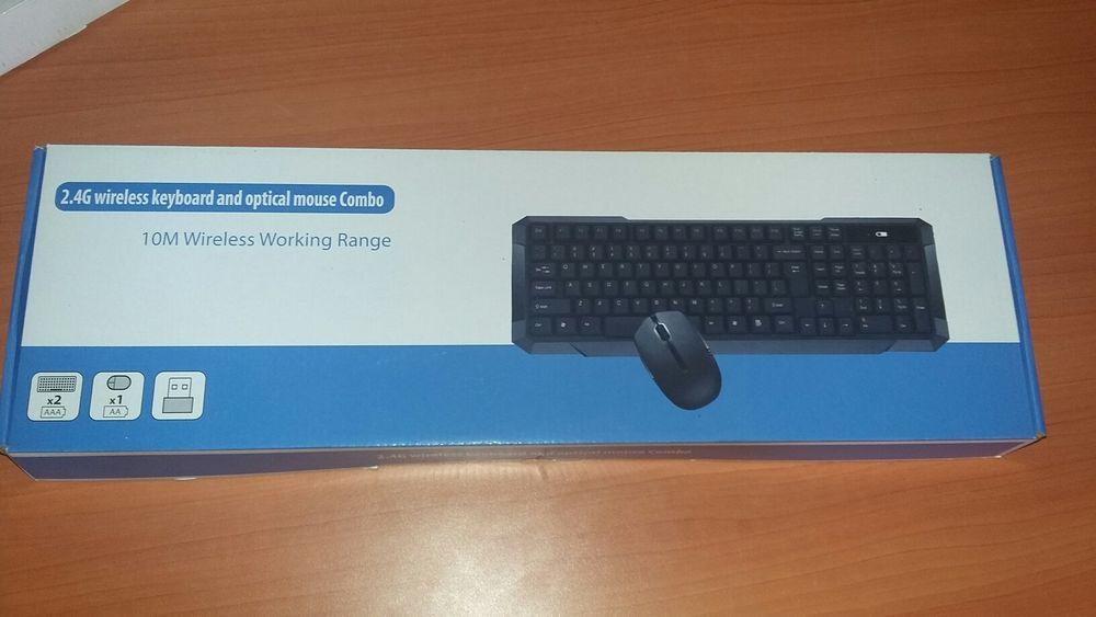 Kit de teclado e Mouse wireless sem fio Maputo - imagem 3