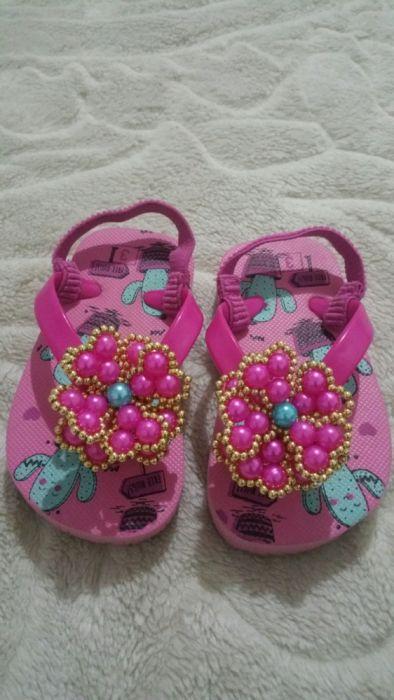 Chinelos customizado para crianças