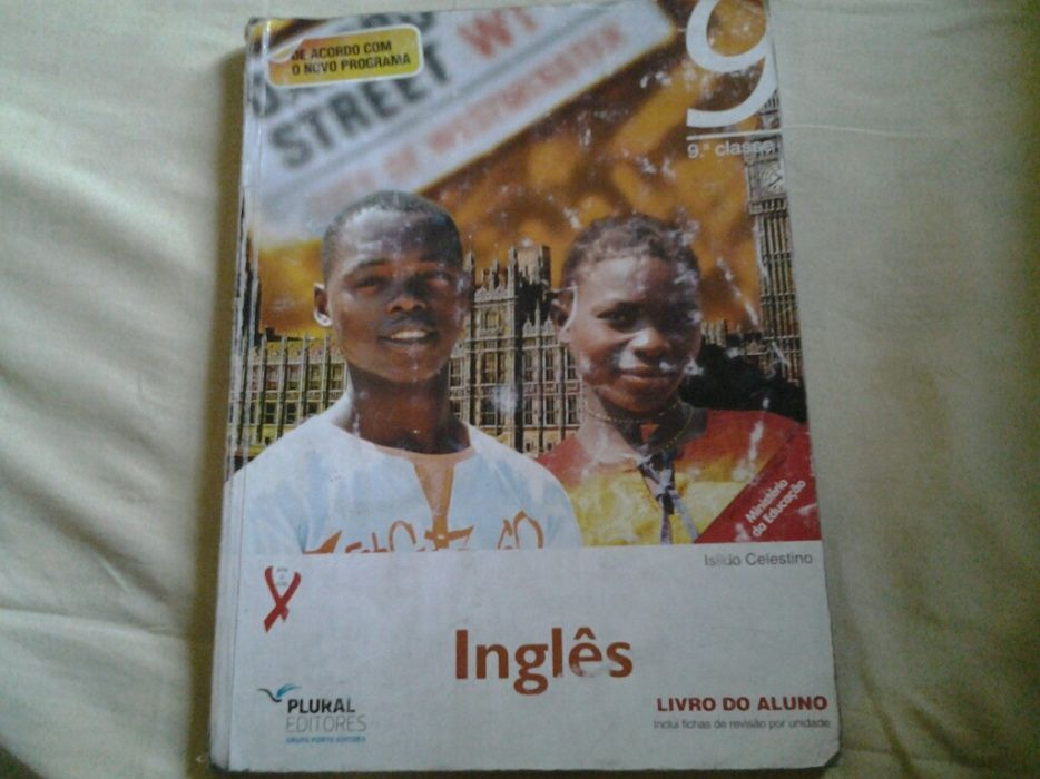 Livro de Inglês da 9ª Classe