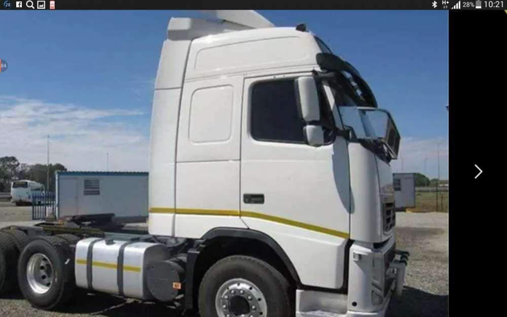 Vendo camiões na África do Sul