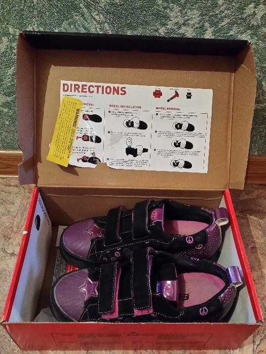 кроссовки ролики