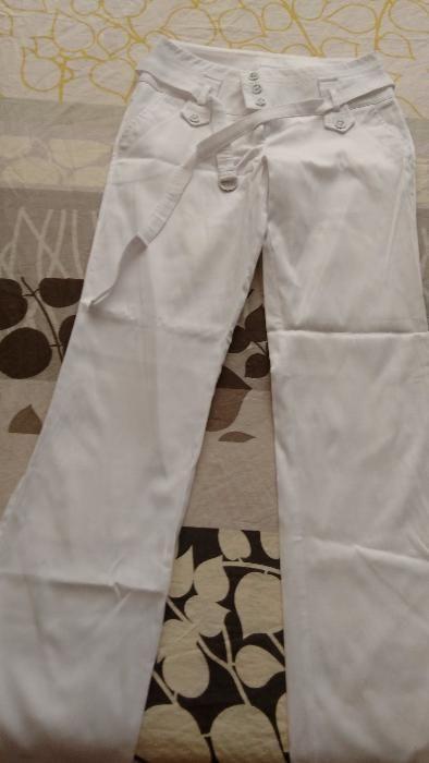 бял панталон Ками