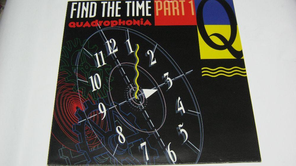 "Disc vinil,maxi,""QUADROPHONIA-Find the Time"",1991"