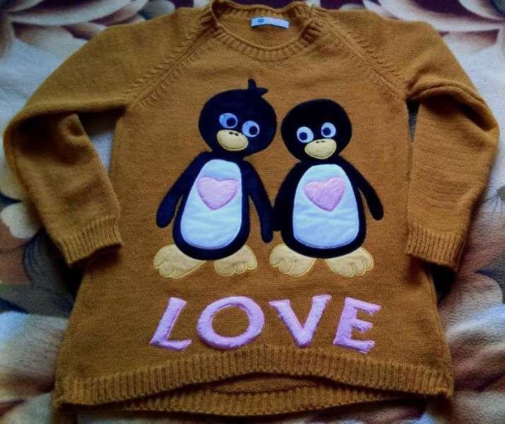 Блузка с пингвинчета