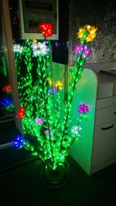 Светомузыка Светящие цветы