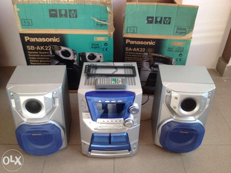 Sistem audio Panasonic