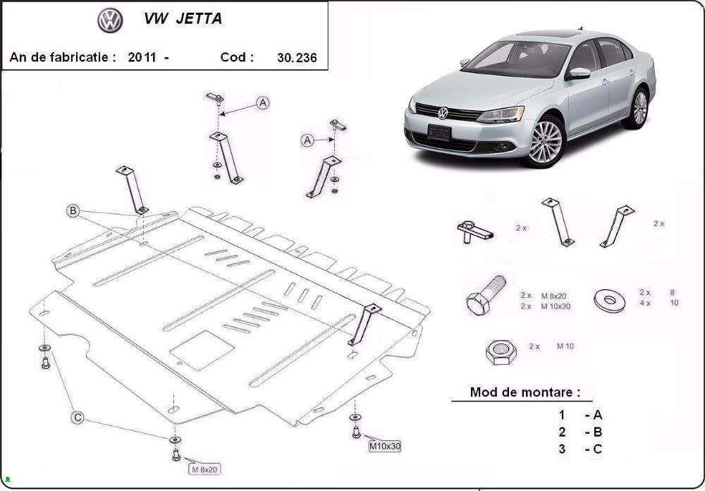 Scut motor VW Jetta 2005-2011- / Caddy 2004-2011- / Scirocco / Touran