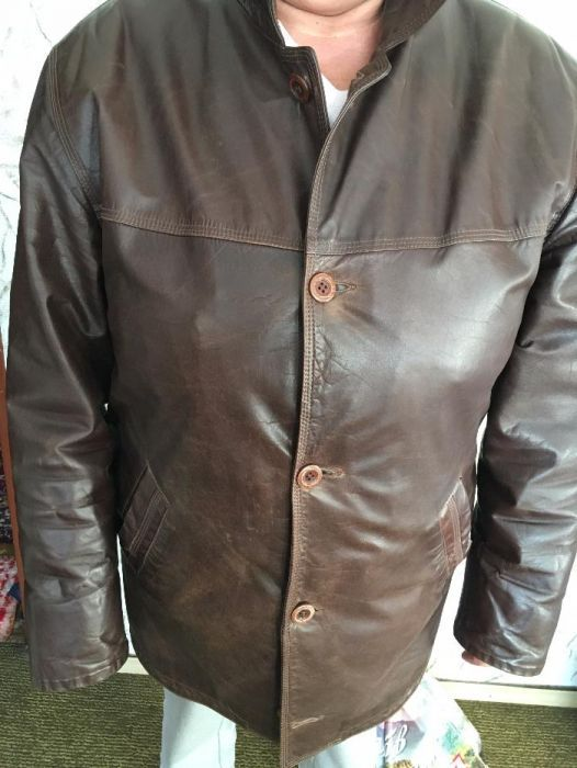 Продавам кожено яке, сако ,, ASOSS CLASSICS,, USA естествена кожа