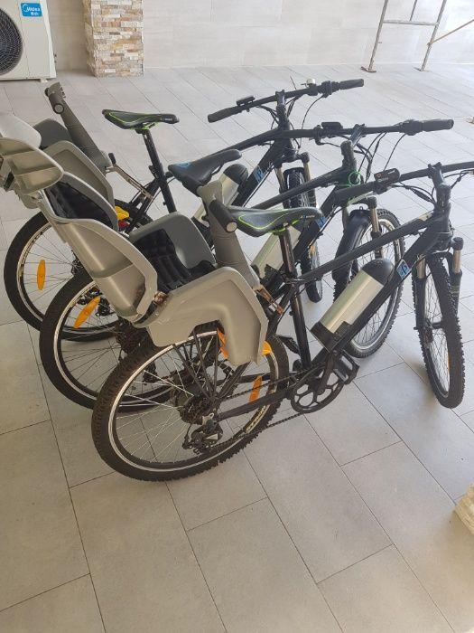 Bicicletas electricas com baterias recarregaveis
