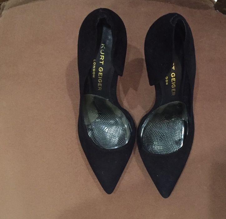 Vand pantofi cu toc originali Kurt Geiger