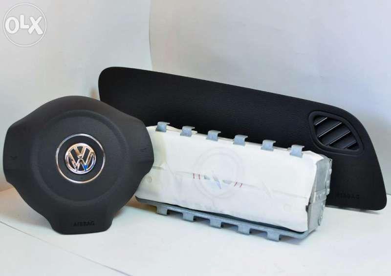 Комплект аербеци Airbag за Vw Polo 6r 2009 г. - 2014 г.