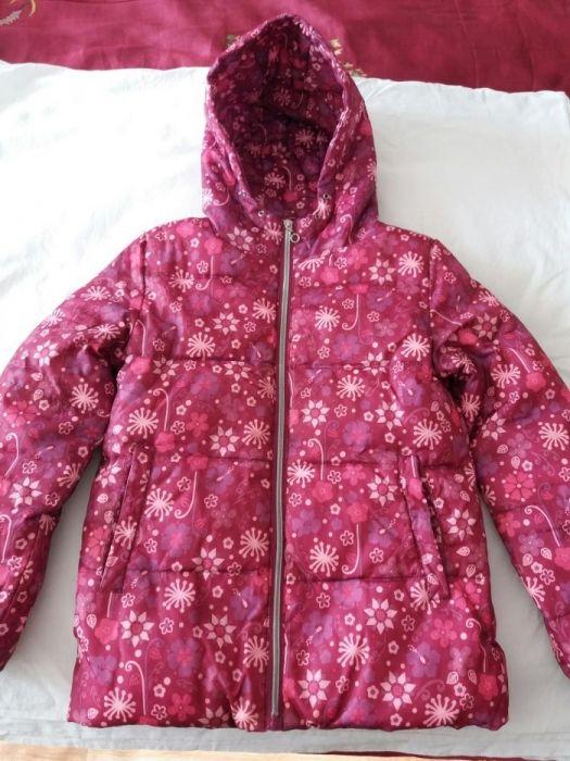 Куртка - пуховик на девочку
