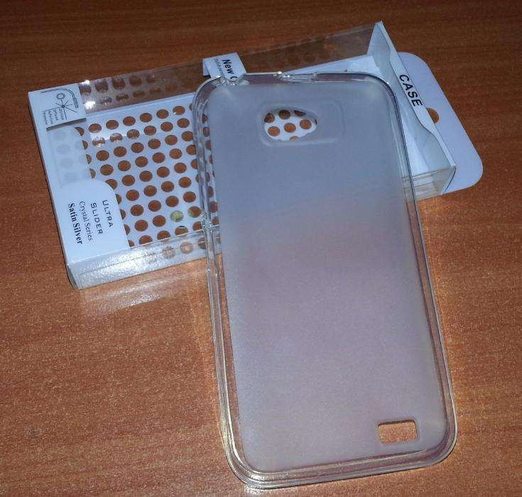 Husa Transparenta Silicon Gel TPU ALLVIEW P5 Alldro + Folie