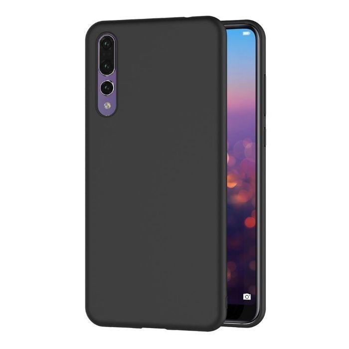 Huawei P20 P20 Lite P20 Pro P Smart - Husa Ultra Slim Silicon Neagra