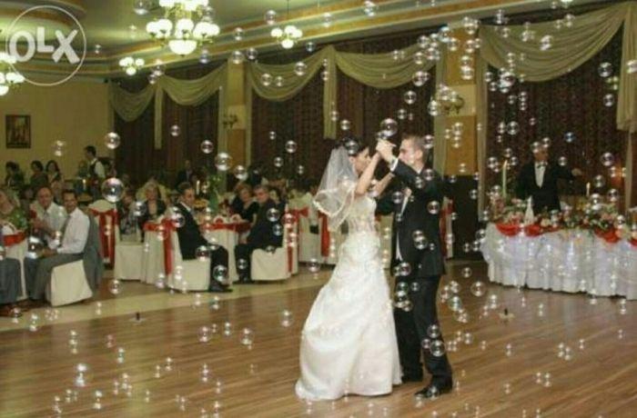 Inchiriez masina profesionala baloane de sapun pentru nunti, botezuri