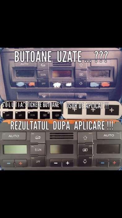Stickere butoane Audi A4 B6 / B7