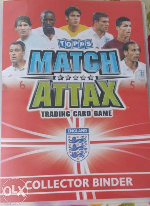 Album + cartonase Match Attax World Cup 2010