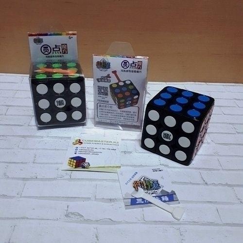 Скоростной кубик Рубика KungFu cube dot 3x3 YuanDian