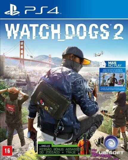 Whatc Dogs 2 para PS4