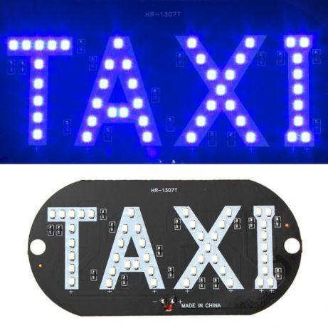 Reclama taxi cu leduri 12V