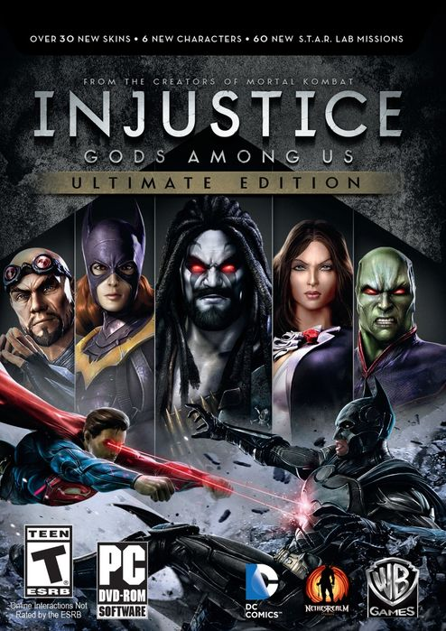 Injustice 1 para PC