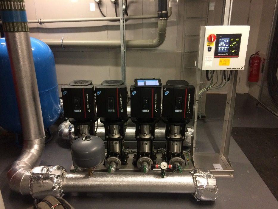 Piese GRUNDFOS, reparatii, interventie pompe apa uzata,incendiu, HVAC