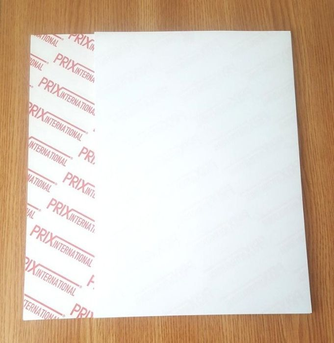 Hârtie A4 autocolante 30 coli culoare alb