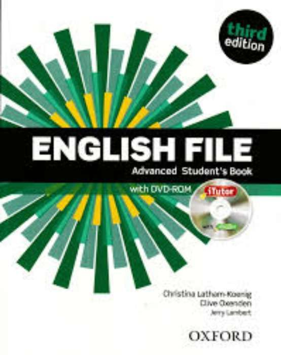 English file advanced student's & work book third edition