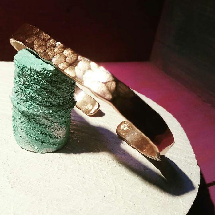 Brățară de cupru handmade vintage design