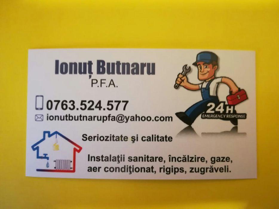 Instalator sanitar, gaze si aer conditionat