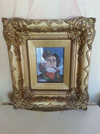 Оригинален гоблен- Старецът с лулата ПРОМОЦИЯ