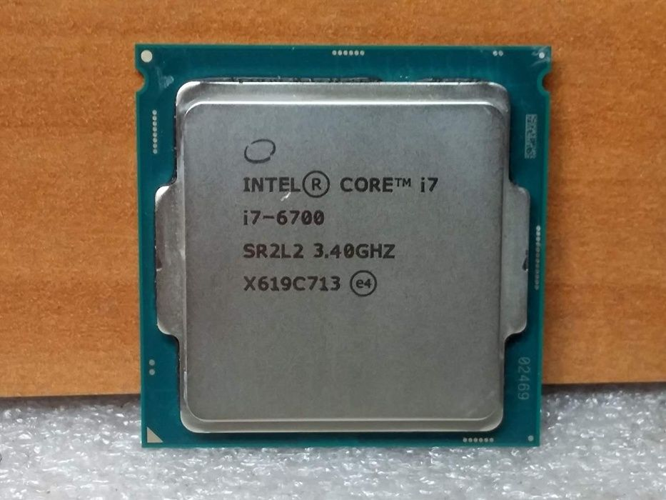 CPU i7 6th Generation i7-6700 3.40Ghz Up to 4.0GHZ