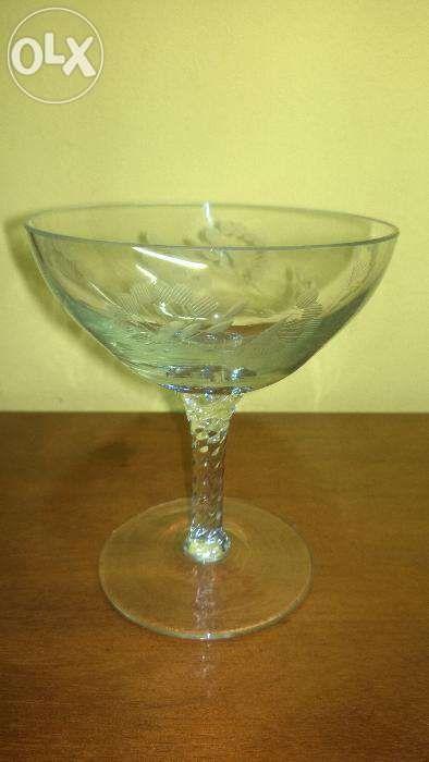 set pahar de cognac din sticla
