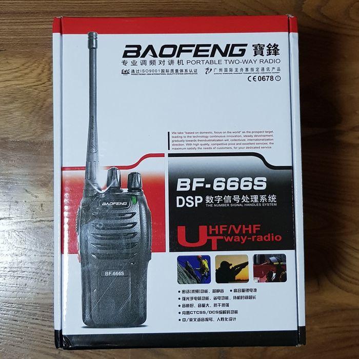 Рация Baofeng 666S