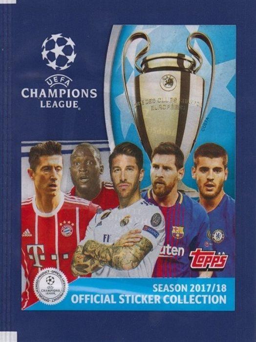 Стикери Панини UEFA Champions League 2017/2018 и Евро 2016