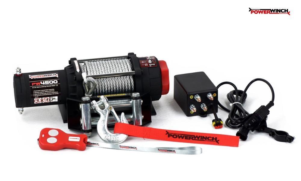 Troliu pentru ATV si UTV PW 4500 lb (2040kg) PowerWinch-NOU