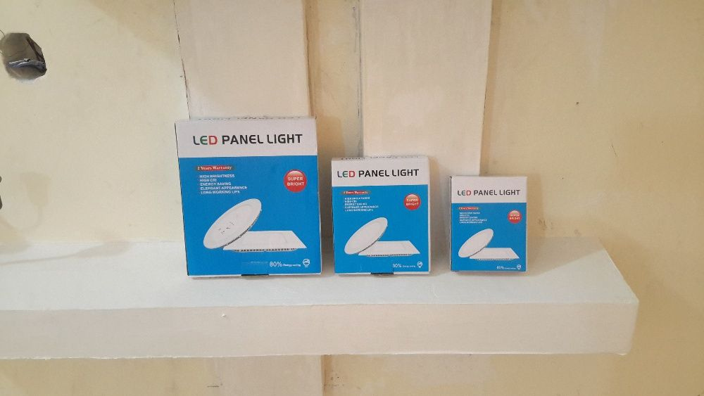 Lâmpadas LED PAINEL LIGHT. Pra teto falso ou pladur.