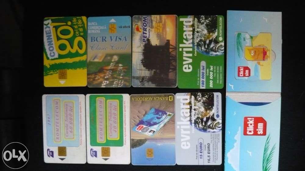 cartele telefonice de colectie