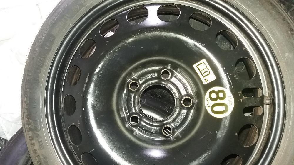 Vand roata rezerva ( slim ) ingusta pe 16 5x110 opel 5 prezoane nou